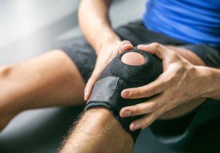 Sport injury knee pain ultrasound scan