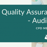 Quality Assurance – Auditing