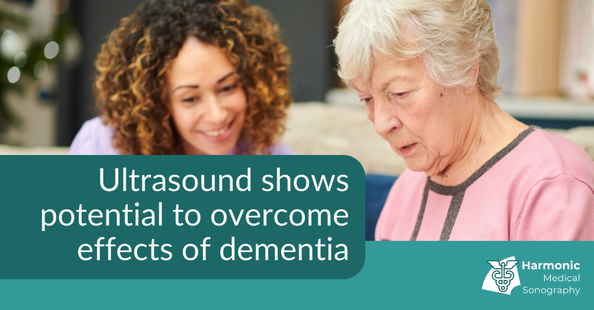 Ultrasound shows potential to overcome effects of aging and dementia
